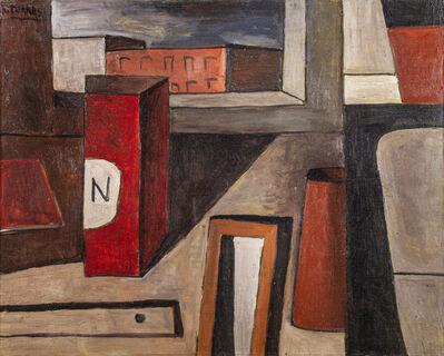 "Augusto Torres, '""Naturaleza muerta con caja roja""', 1975"