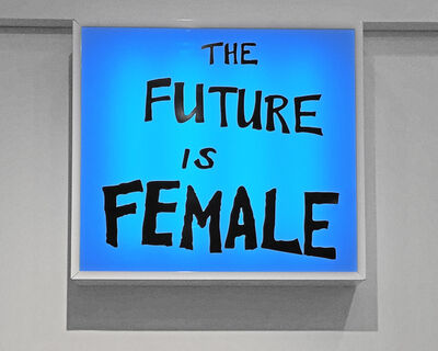 Sam Durant, 'The Future Is Female', 2018
