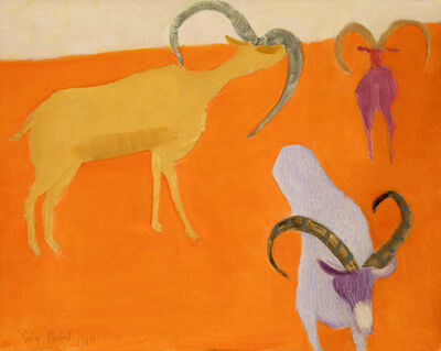 Sally Michel, 'Untitled [Ibex]', 1970