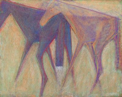 Sunil Das, 'Untitled (Horses)', Undated