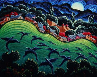 """Kim Wiggins, '""""Rising Moon At Taos""""', 2017"""