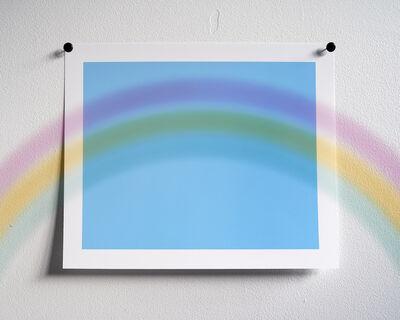 Adam Neese, 'Rainbow Over Sky Blue (Every Filter Series)', 2014