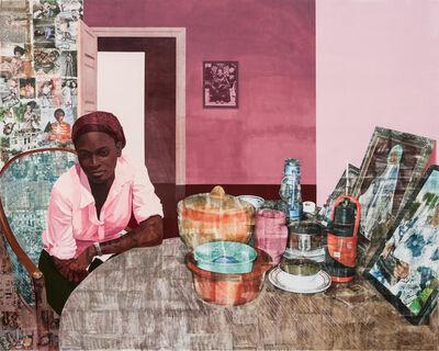 Njideka Akunyili Crosby, 'Mama, Mummy and Mamma (Predecessors #2)', 2014
