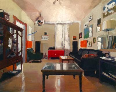 Simon Andrew, 'Interior with Mirror Ball', 2017