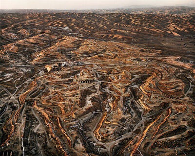 Edward Burtynsky, 'Oil Fields #27, Bakersfield, California'