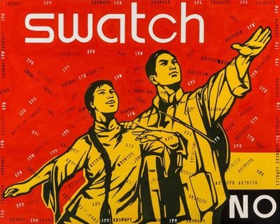 Wang Guangyi 王广义, 'Great Criticism Series: Swatch', 2005