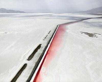 David Burdeny, 'Red Canal, Great Salt Lake, Utah', 2017