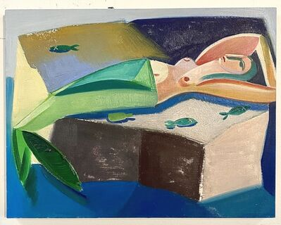 Danielle Orchard, 'Mermaid on Rocks', 2019