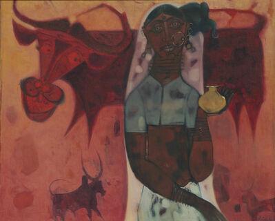 J. Sultan Ali, 'Milkmaid', 1971