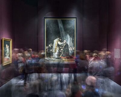 Matthew Pillsbury, 'Goya's Last Communion of Saint Joseph of Calasanz, Museum of Fine Arts Boston', 2014