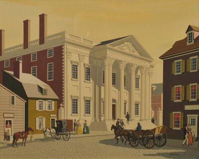 James R. Bingham, 'First Bank in Philadelphia', 20th Century