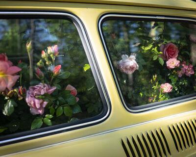 Cig Harvey, 'Roses, Yellow Car, 2020', 2020