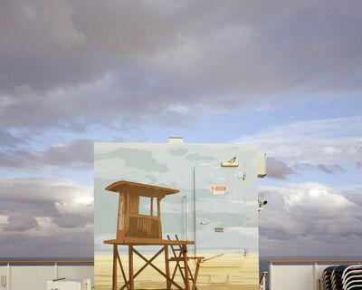 """Anna Beeke, '32 37'01.0""""N 73 39'08.2""""W (Painted Sky)', 2014"""