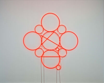 Mai-Thu Perret, '2015 Neon (orange)', 2011