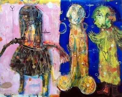 Yvan Genest, 'Angels Listening'