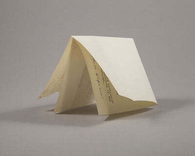 Lenka Clayton, 'Letter from a Sculptor (Hepworth)', 2019