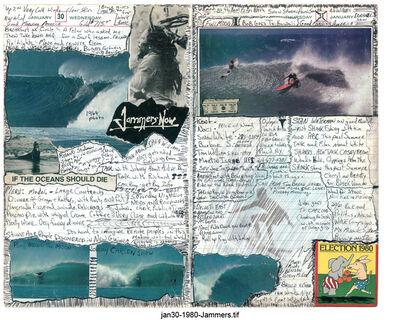 Tony Caramanico, 'The Surf Journals, Series 1: January 30, 1980', 2001