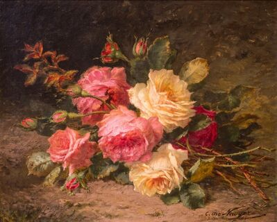 André Perrachon, 'Flower bunch ', 19th Century