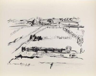 Jane Freilicher, 'Lamdscape', 1960-1963