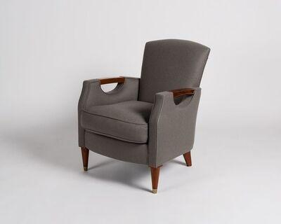Maison Leleu, 'Curved Back Armchair', 1957