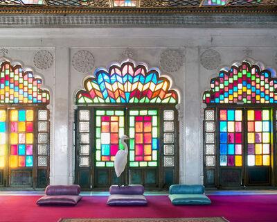 Karen Knorr, 'The Lifting of Purdah, Moti Mahal, Mehrangarh Fort.'