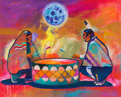 John Nieto, 'Cosmic Drumbeat', 2009