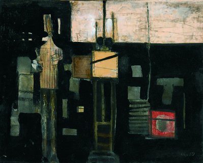 LJUBO IVANČIĆ, 'Artist in the Studio', 1959