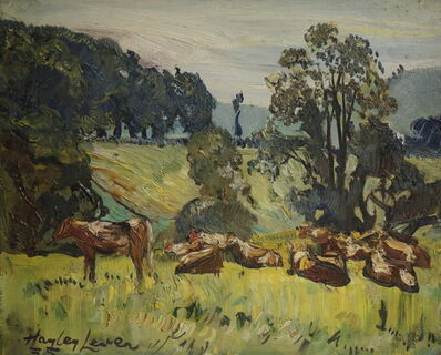 Hayley Lever, 'Cowa at Pasture', 1934