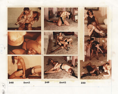 Paul Quant, 'Wrestling Photography N. 3, circa 1982', ca. 1982