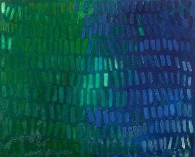Yvonne Thomas, 'Blue Green No. II', 1963