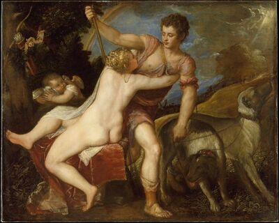 Titian, 'Venus and Adonis'