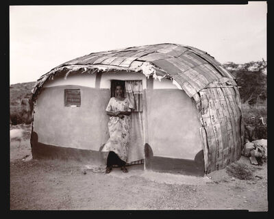 Linda Connor, 'Somali Woman, USA House, Ethiopia', 2006