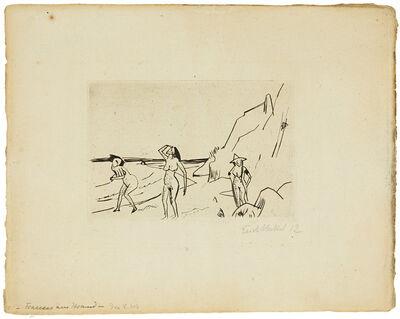 Erich Heckel, 'Frauen am Strand', 1912