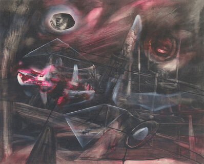 Roberto Matta, 'The Black Idea (L'Ideé Noir)', 1942