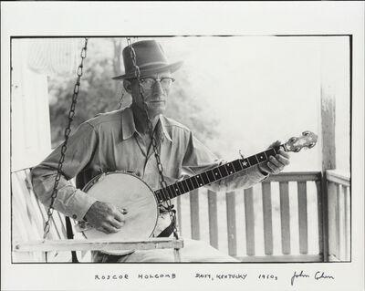 John Cohen, 'Roscoe Holcomb', ca. 1960s