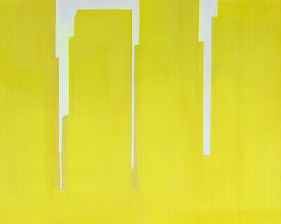 Wanda Koop, 'In Absentia (Yellow - Pink White)', 2015