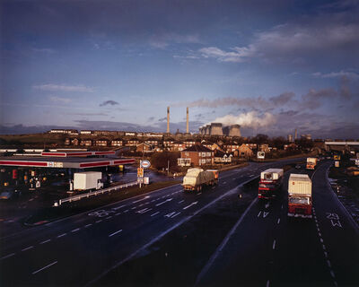 Paul Graham, 'Ferrybridge Powerstation, West Yorkshire, November', 1982