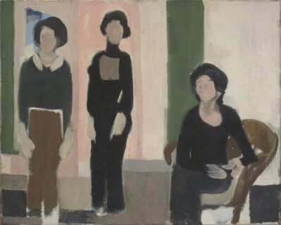 Janice Biala, 'Trois Personnages', 1973