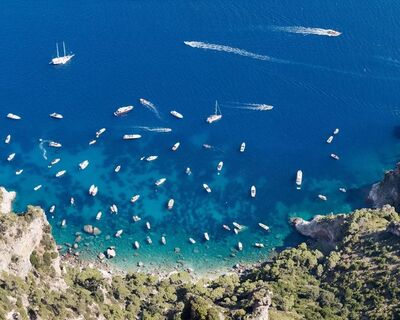Jonathan Smith, 'Yachts from Monte Solaro', 2020