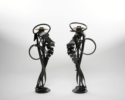 Albert Paley, 'Double Shear Candle Holder, 2014', 2014