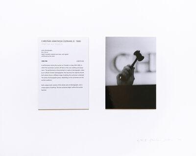 Christian Jankowski, 'Strip the Auctioneer', 2009