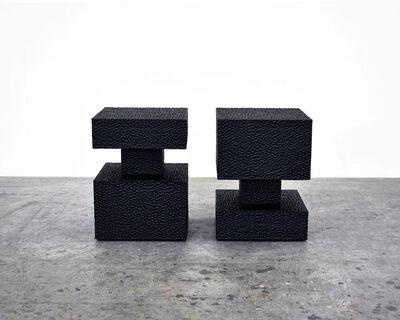 John Eric Byers, 'Revert Stools (Square)', ca. 2012