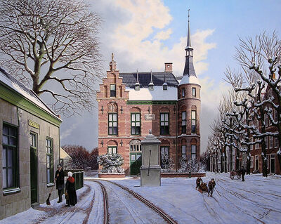 Rob van Assen, 'Old town hall in 1905', ca. 2007