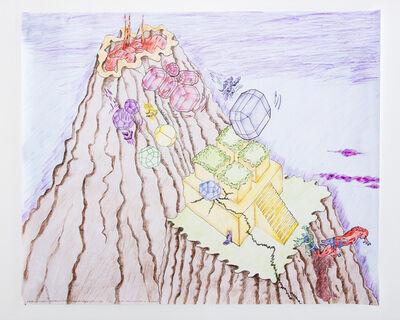 """Lapo Binazzi, '""""UFO - 1970 - Villa Sotto Il Cratere"""" Poster', 2016"""