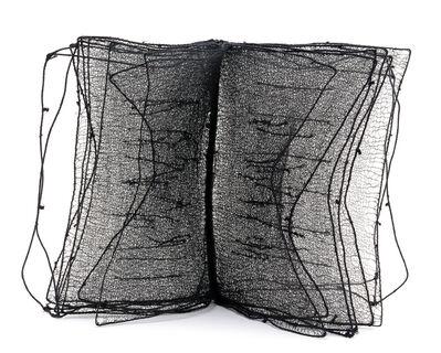 Franca Sonnino, 'Libro nero scritta bianca', 2000
