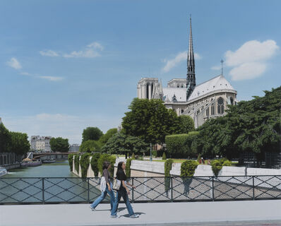 Christian Marsh, 'Notre Dame, Paris'