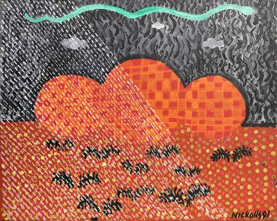 Trevor Nickolls, 'Rain Time', 1991