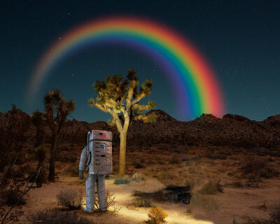 Ludwig Favre, 'Desert Space', 2019