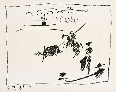 Pablo Picasso, 'LA PIQUE (The Pike)', 1961