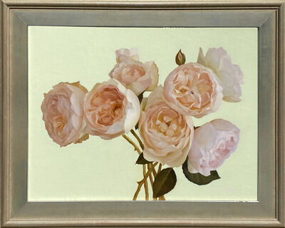 Jenny Kelley, 'Roses with Pale Green', 2021